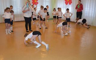 Спортивный праздник в старшей группе детского сада