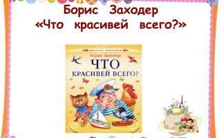 Урок литературного чтения, 2 класс. заходер «товарищам детям», «что красивей всего?»