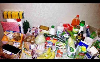 Как закупить продукты на неделю