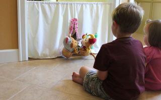Домашний кукольный театр для детей