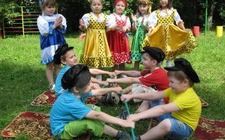 Народные игры для детей 7-8 лет