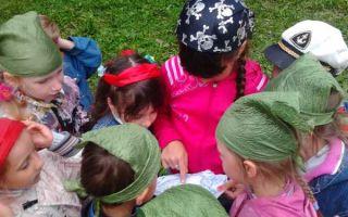 Игра путешествие для старших дошкольников в детском саду. сценарий