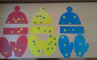 Конспект занятия в детском саду во 2 младшей группе. одежда