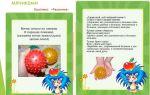 Конспект игрового занятия для детей третьего года жизни на тему: мячики