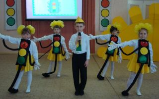 Выступление агитбригады юид по пдд в начальной школе