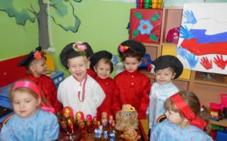 Сценарий праздника ко дню народного единства в подготовительной группе