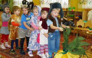 Инсценировка музыкальной сказки в детском саду