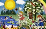 Сказки на летнюю тематику для детей 5-7 лет