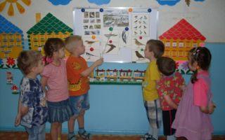Тематический день игр в старшей группе детского сада