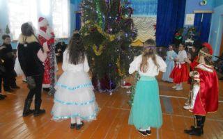 Новогодний праздник для учащихся начальных классов