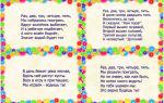 Считалки, скороговорки, частушки для детей старшего дошкольного возраста