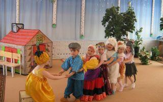 Инсценировка для дошкольников на тему «лето»