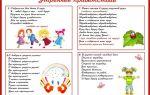 Стихи для детей средней группы детского сада