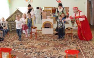 Сценарий на масленицу в детском саду в помещении для подготовительной группы