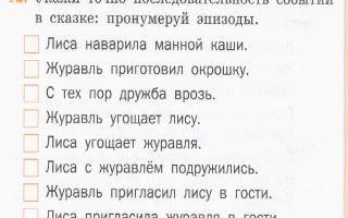 Конспект урока литературного чтения по фгос, 2 класс. сказка «лиса и журавль»