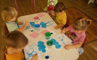 Конспект занятия в группе раннего возраста для детей 1-2 лет. грибы. дождик