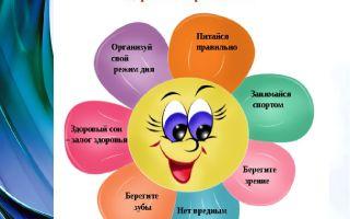 Беседа на тему «здоровый образ жизни» для начальных классов