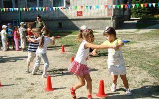 Сценарий летнего праздника для детей старшей – подготовительной группе ко дню защиты детей на площадке доу