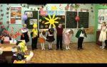 Праздник осени в начальной школе. сценарий, 1 класс