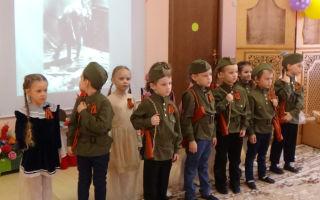 Сценарий праздника ко дню победы в старшей группе детского сада