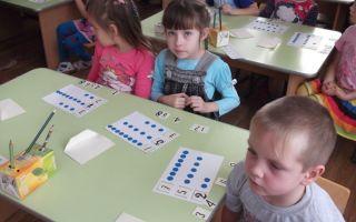 Конспект занятия в детском саду в подготовительной группе. чередование элементов