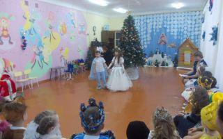 Новогоднее театрализованное представление для детей подготовительной группы