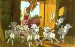 Сказка. волк и коза