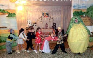Сценарий музыкальной сказки для детей дошкольников 6-7 лет