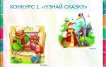 Сценарий конкурсной программы по сказкам для 1-2 класса