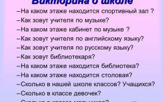 Викторина с ответами на тему «символы» для учащихся начальной школы