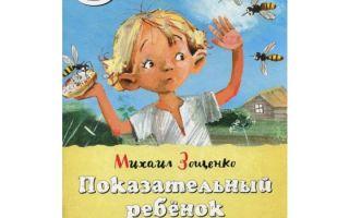 Зощенко «показательный ребенок»