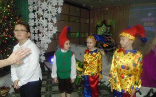 Сценарий новогоднего утренника в начальной школе
