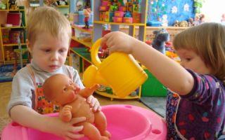 Дидактическая игра для детей 2-3 лет «купаем куклу»