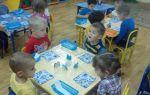 Занятие по математике во второй младшей группе доу на зимнюю тему