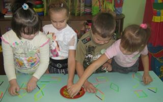 Конспект занятия в детском саду в подготовительной группе. добавление элементов