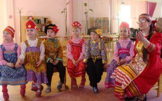 Музыкально-фольклорный праздник в старшей группе. сценарий