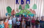 Квн в детском саду для детей старшей группы