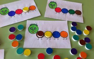Дидактические игры для детей 3-4 лет в детском саду