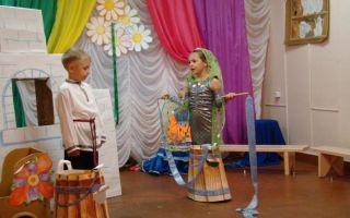 Инсценировка музыкальной сказки для детей начальной школы