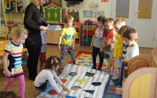 Конспект занятия в младшей группе детского сада на тему: «помещения детского сада»
