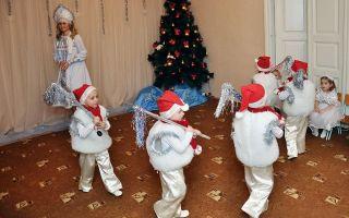 Игры на новогоднем празднике для детей в детском саду