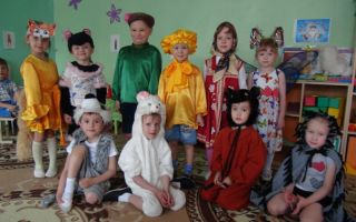 Театральная инсценировка для детского сада. старшая-подготовительная группа