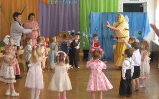 Сценарий 8 марта для детей 2-3 лет в детском саду