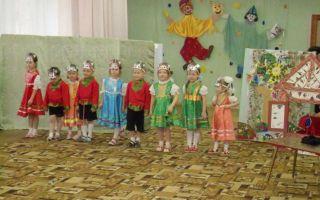 Весеннее театрализованное представление для детей старшей группы в детском саду