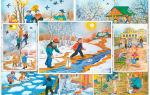 Конспект развлечения на весеннюю тематику для дошкольников 6-7 лет