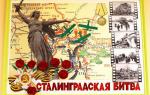 День сталинградской битвы. сценарий для детского сада