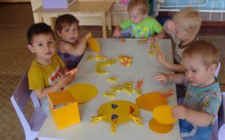 Конспект занятия в группе раннего возраста. знакомство