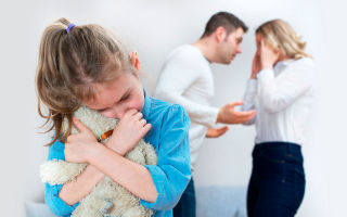 Как помочь ребёнку пережить развод родителей