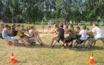 Спортивные соревнования в лагере