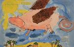 Сказка «свинья и коршун»